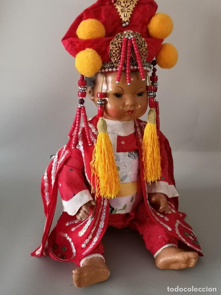 Muñecas Porcelana: IMPRESIONANTE JOYA DE COLECCIONISTA PAREJA DE ASIATICO AÑOS 40 ,PORCELANA ALEMANA - Foto 15 - 177955903