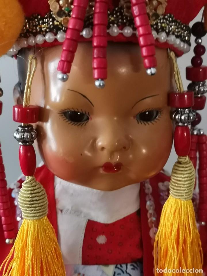 Muñecas Porcelana: IMPRESIONANTE JOYA DE COLECCIONISTA PAREJA DE ASIATICO AÑOS 40 ,PORCELANA ALEMANA - Foto 16 - 177955903