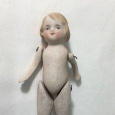 Muñecas Porcelana: ANTIGUA MUÑECA MUÑEQUITA PORCELANA ALEMANA ORIGINAL MEDIDAS FOTOGRAFIADAS. Lote 178005939