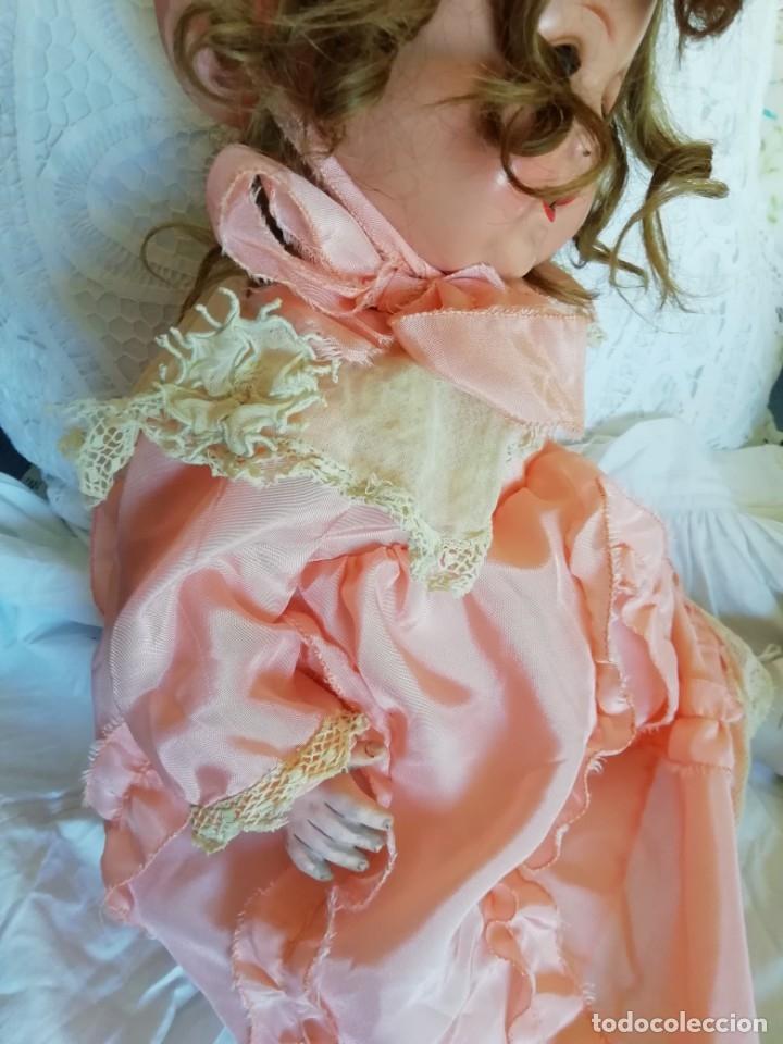 Muñecas Porcelana: Excelente muñeca de A. Marseille 996 52cm - Foto 2 - 178274400