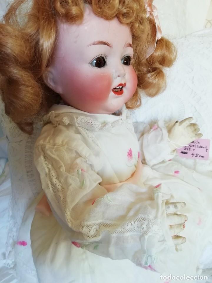Muñecas Porcelana: Excelente muñeca de Heubach Koppelsdorf 342.4 45cmcm - Foto 4 - 178280032