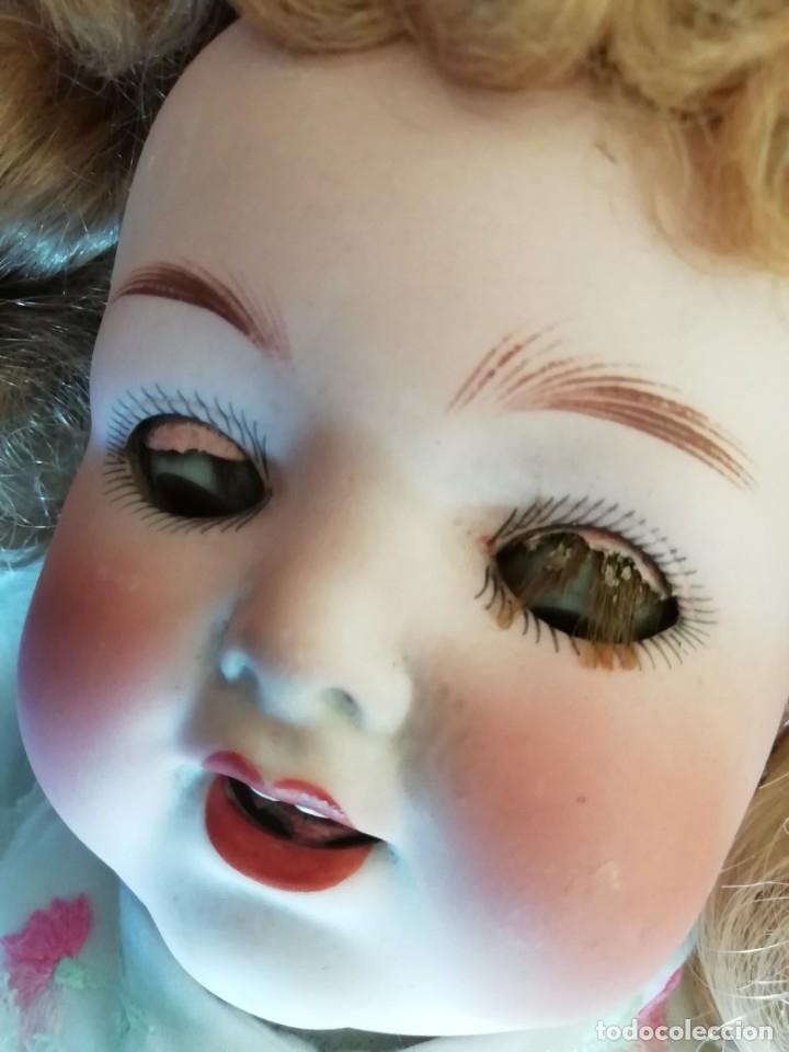 Muñecas Porcelana: Excelente muñeca de Heubach Koppelsdorf 342.4 45cmcm - Foto 9 - 178280032