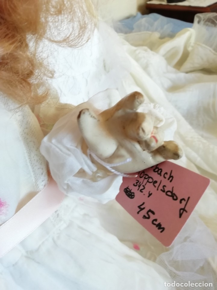 Muñecas Porcelana: Excelente muñeca de Heubach Koppelsdorf 342.4 45cmcm - Foto 10 - 178280032