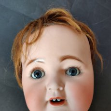 Muñecas Porcelana: EXCELENTE CABEZA DE BEBÉ DE CARÁCTER KESTNER 262, 63 CM. Lote 178955011