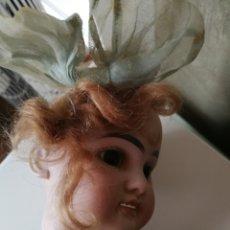 Muñecas Porcelana: MUÑECA ANTIGUA BISCUIT ARMAND MARSEILLE. Lote 180270145