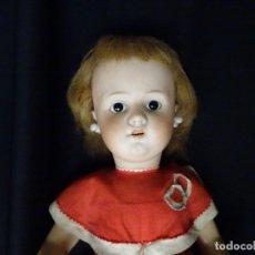 Muñecas Porcelana: ANTIGUA MUÑECA DE PORCELANA FRANCESA,MIDE 48 CMTS. MARCA LEHMANN Y COMPAÑIA. ANCLA.. Lote 180437120