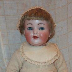 Muñecas Porcelana: MUÑECO SIMON&HALBIG,126,GERMANY,PORCELANA,CON SONIDO,PPIO DEL S.XX. Lote 181032047