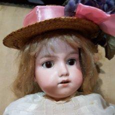 Muñecas Porcelana: PRECIOSA Y ANTIGUA MUÑECA DE PORCELANA ARMAND MARSELLE PP.SG.XX.. Lote 182419556