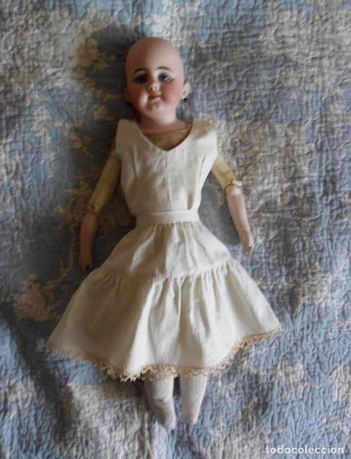 Muñecas Porcelana: Early o temprana muñeca de porcelana Simon Halbig 1880 - Foto 2 - 182844738