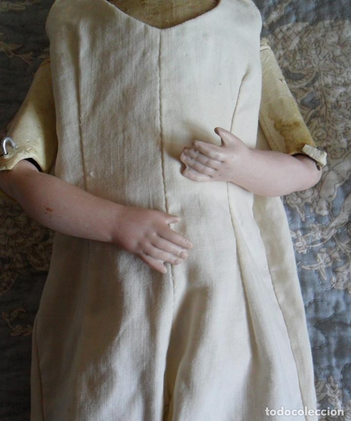 Muñecas Porcelana: Early o temprana muñeca de porcelana Simon Halbig 1880 - Foto 6 - 182844738