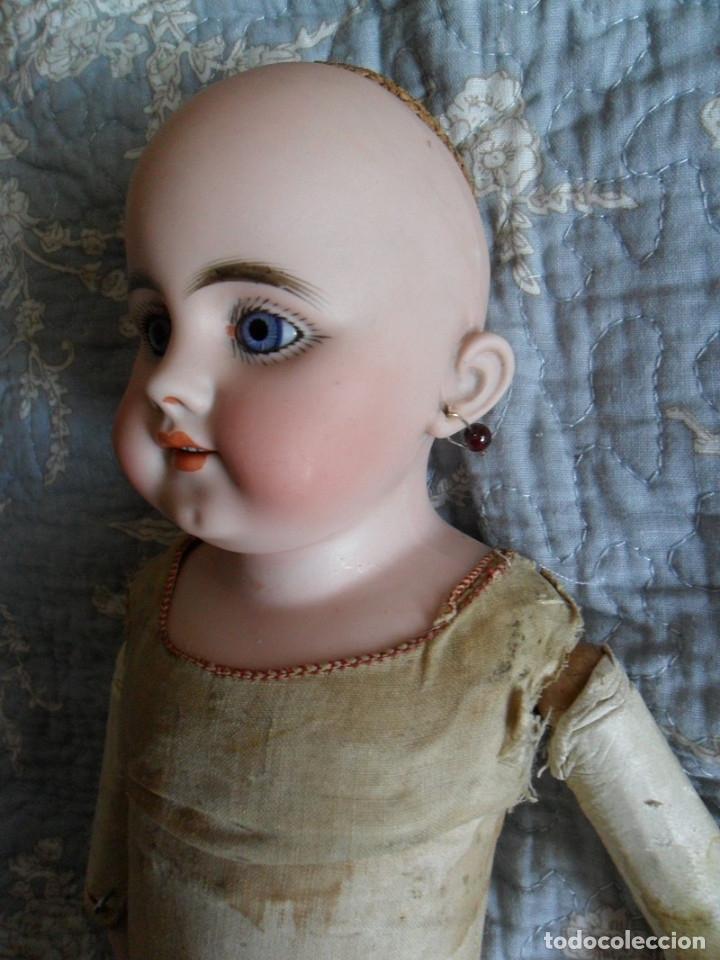 Muñecas Porcelana: Early o temprana muñeca de porcelana Simon Halbig 1880 - Foto 4 - 182844738