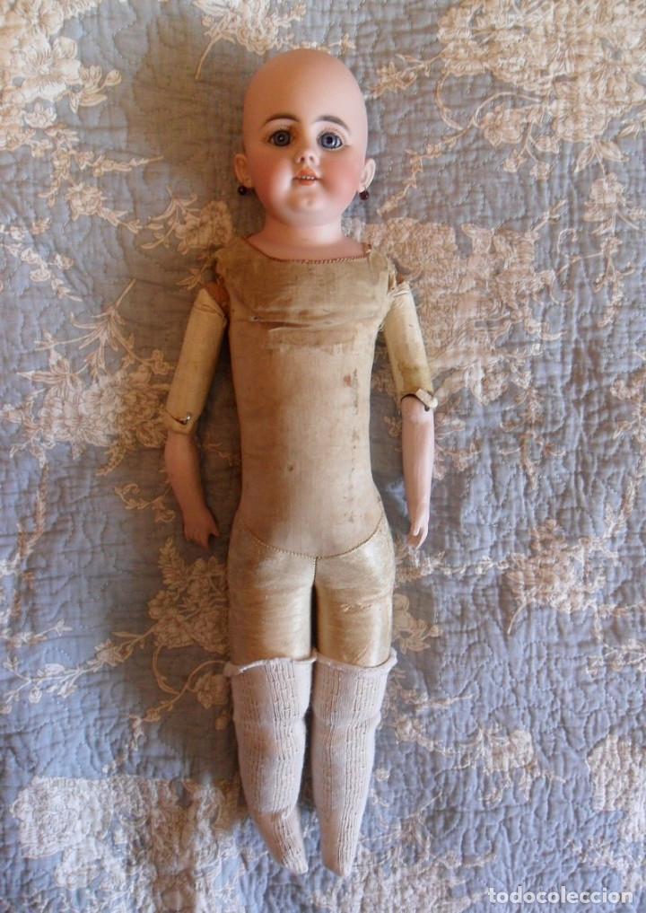 Muñecas Porcelana: Early o temprana muñeca de porcelana Simon Halbig 1880 - Foto 3 - 182844738