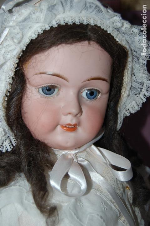MUÑECA ALEMANA JP (Juguetes - Muñeca Extranjera Antigua - Porcelana Alemana)