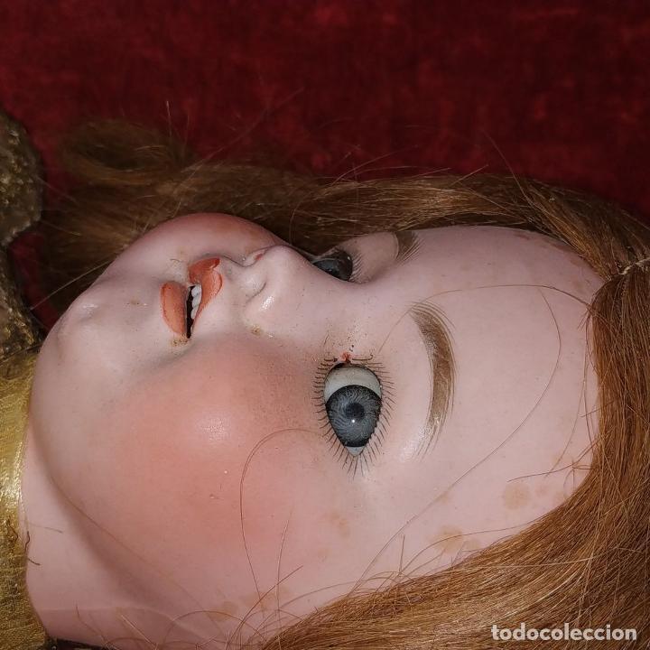 Muñecas Porcelana: MUÑECA. SIMON - HALBIG 1039. 10 1/2. ANDADORA. OJOS FLIRTING. ALEMANIA. SIGLO XIX-XX - Foto 5 - 184608906