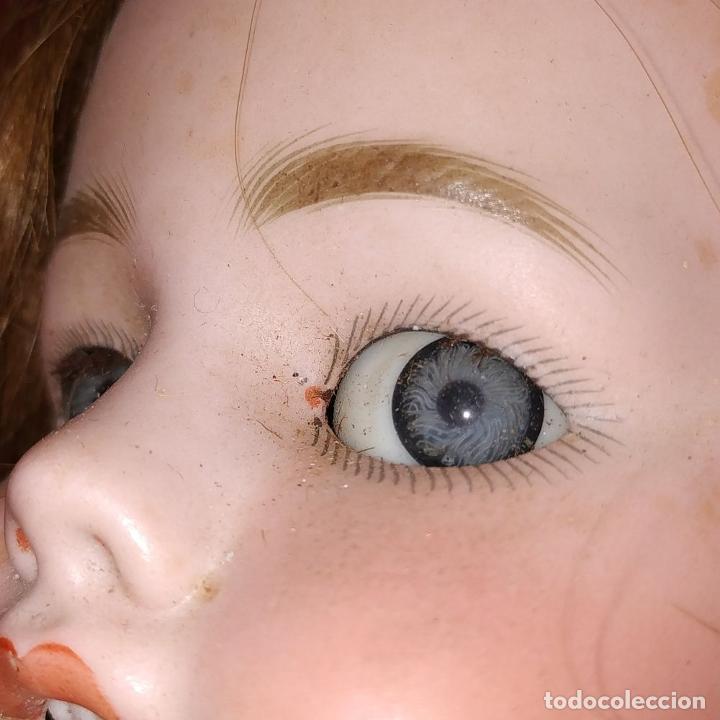 Muñecas Porcelana: MUÑECA. SIMON - HALBIG 1039. 10 1/2. ANDADORA. OJOS FLIRTING. ALEMANIA. SIGLO XIX-XX - Foto 6 - 184608906