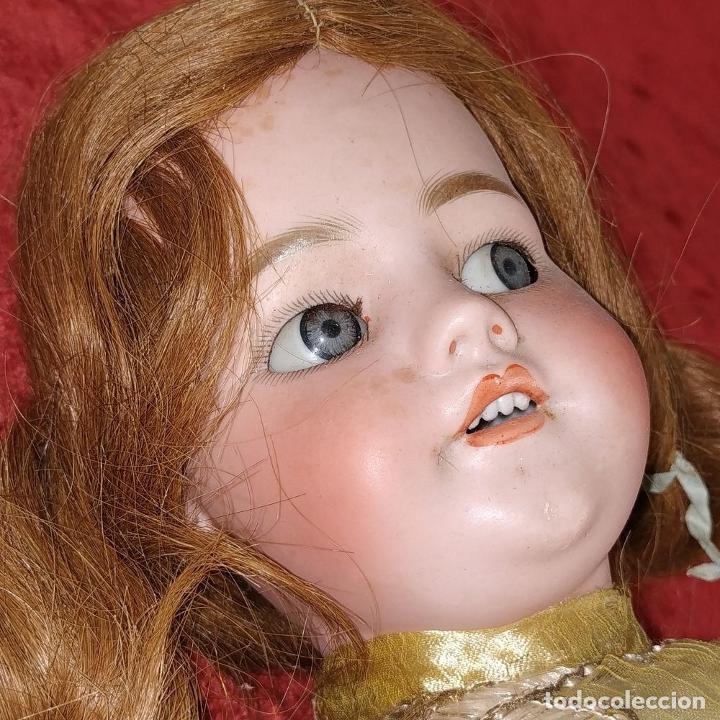 Muñecas Porcelana: MUÑECA. SIMON - HALBIG 1039. 10 1/2. ANDADORA. OJOS FLIRTING. ALEMANIA. SIGLO XIX-XX - Foto 7 - 184608906