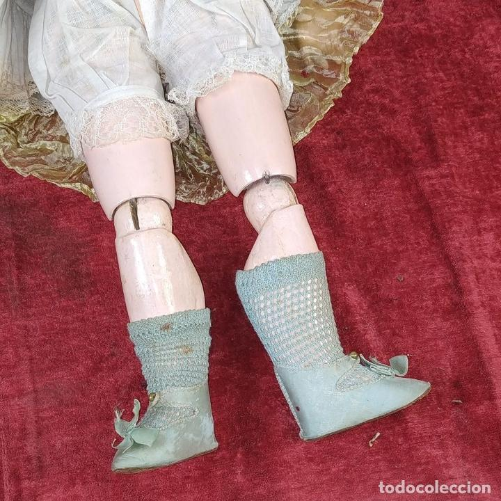 Muñecas Porcelana: MUÑECA. SIMON - HALBIG 1039. 10 1/2. ANDADORA. OJOS FLIRTING. ALEMANIA. SIGLO XIX-XX - Foto 16 - 184608906