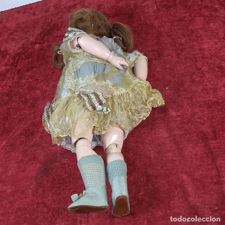 Muñecas Porcelana: MUÑECA. SIMON - HALBIG 1039. 10 1/2. ANDADORA. OJOS FLIRTING. ALEMANIA. SIGLO XIX-XX - Foto 18 - 184608906