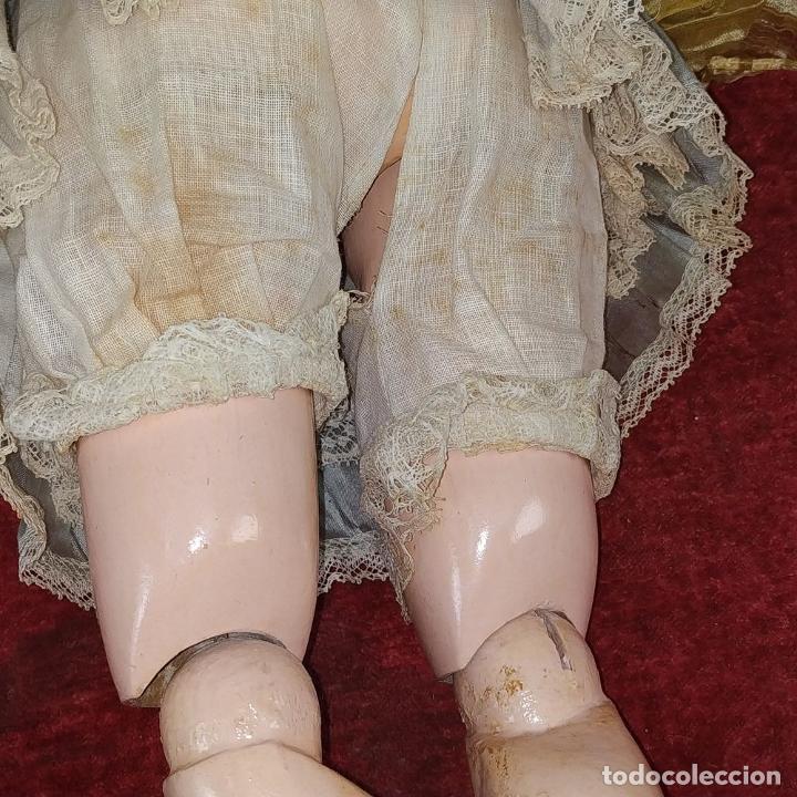 Muñecas Porcelana: MUÑECA. SIMON - HALBIG 1039. 10 1/2. ANDADORA. OJOS FLIRTING. ALEMANIA. SIGLO XIX-XX - Foto 19 - 184608906