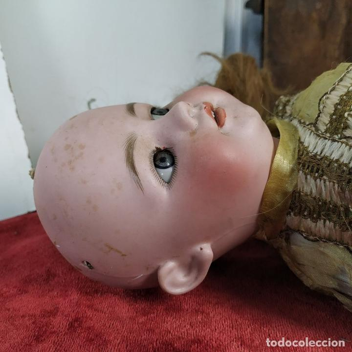 Muñecas Porcelana: MUÑECA. SIMON - HALBIG 1039. 10 1/2. ANDADORA. OJOS FLIRTING. ALEMANIA. SIGLO XIX-XX - Foto 28 - 184608906