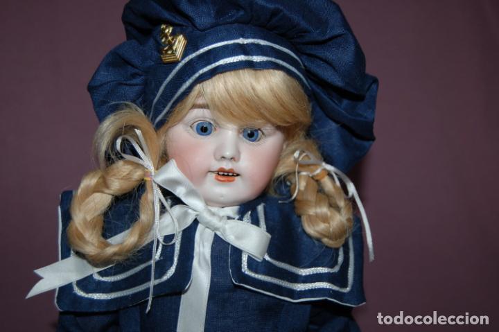 Muñecas Porcelana: muñeca marcada con una R - Foto 2 - 184636973