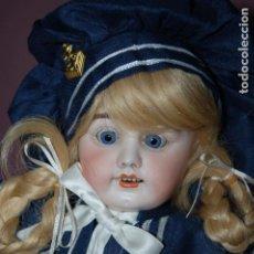 Muñecas Porcelana: MUÑECA MARCADA CON UNA R. Lote 184636973