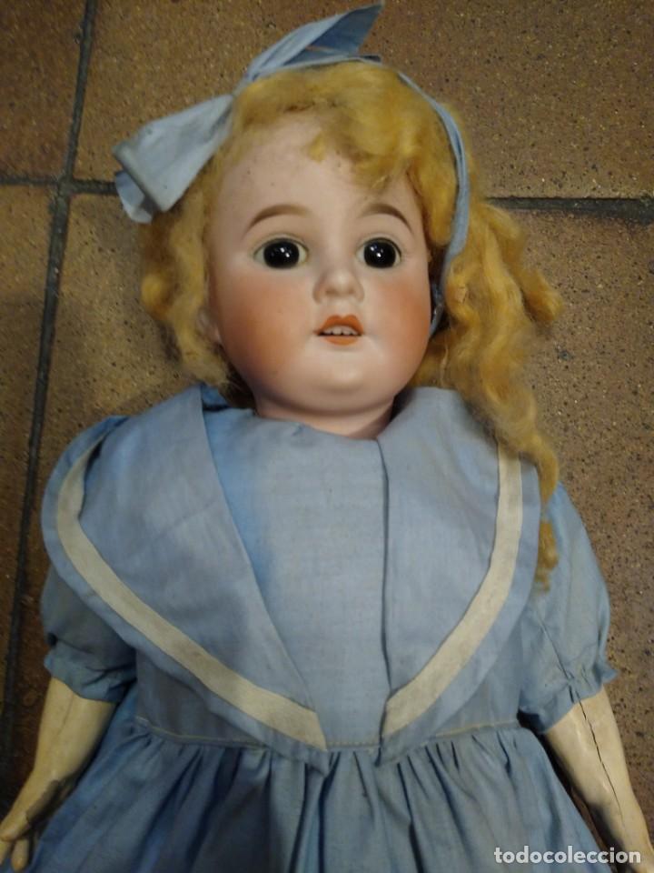 Muñecas Porcelana: Armand Marseille 1894 AM unos 47 cm ropa original de época - Foto 2 - 187610017