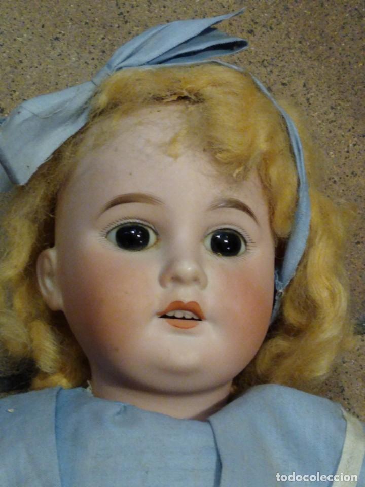 Muñecas Porcelana: Armand Marseille 1894 AM unos 47 cm ropa original de época - Foto 8 - 187610017