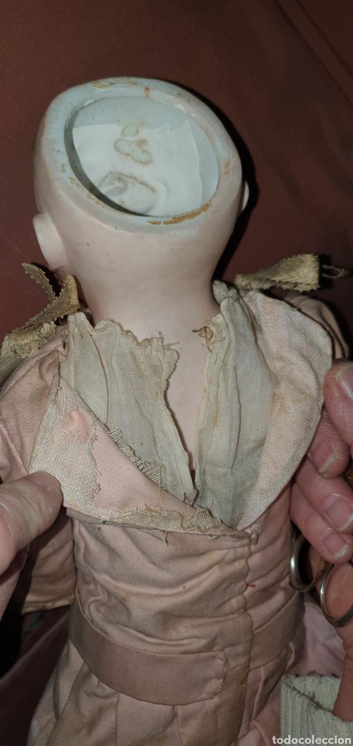 Muñecas Porcelana: Antigua Muñeca Alemana de Porcelana - Leer Descripción - - Foto 16 - 92394250