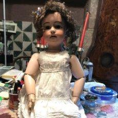 Muñecas Porcelana: SIMON HALBIG 1078 16 LADY MUÑECA. Lote 189423070