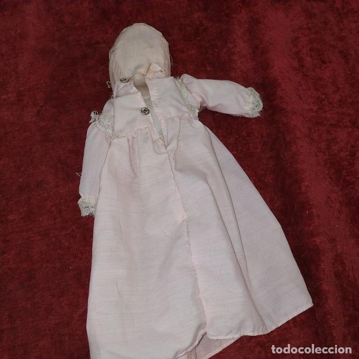 Muñecas Porcelana: 2 MUÑECAS EN BISCUIT. UNA CON EL CUERPO DE TELA. ALEMANIA. PRINCIPIO SIGLO XX - Foto 2 - 189749537