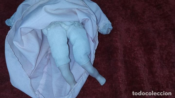 Muñecas Porcelana: 2 MUÑECAS EN BISCUIT. UNA CON EL CUERPO DE TELA. ALEMANIA. PRINCIPIO SIGLO XX - Foto 8 - 189749537