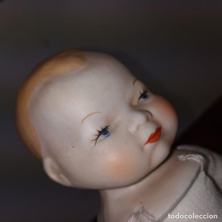 Muñecas Porcelana: 2 MUÑECAS EN BISCUIT. UNA CON EL CUERPO DE TELA. ALEMANIA. PRINCIPIO SIGLO XX - Foto 10 - 189749537