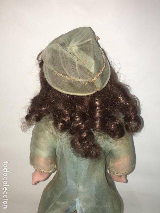 Muñecas Porcelana: Antigua muñeca cabeza de porcelana armand marseille 30 cmts, original años 20. R80 - Foto 9 - 190197723