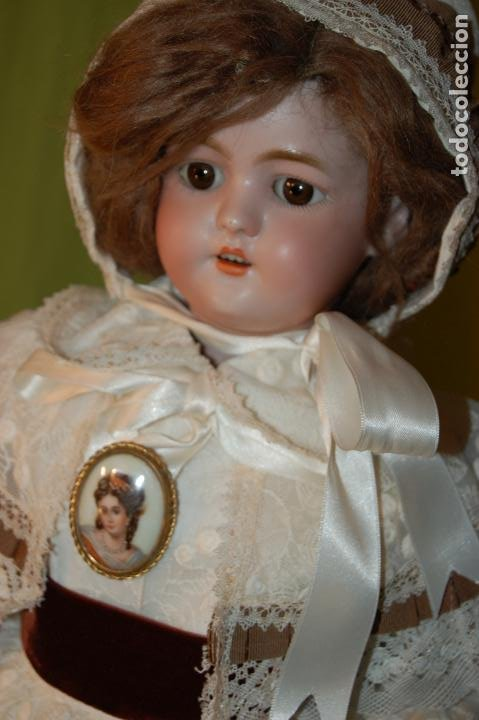 Muñecas Porcelana: automata a cuerda Fleischmann & Bloedel cabeza simon halbig - Foto 18 - 127579715