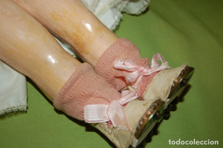 Muñecas Porcelana: automata a cuerda Fleischmann & Bloedel cabeza simon halbig - Foto 20 - 127579715