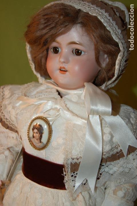 Muñecas Porcelana: automata a cuerda Fleischmann & Bloedel cabeza simon halbig - Foto 21 - 127579715