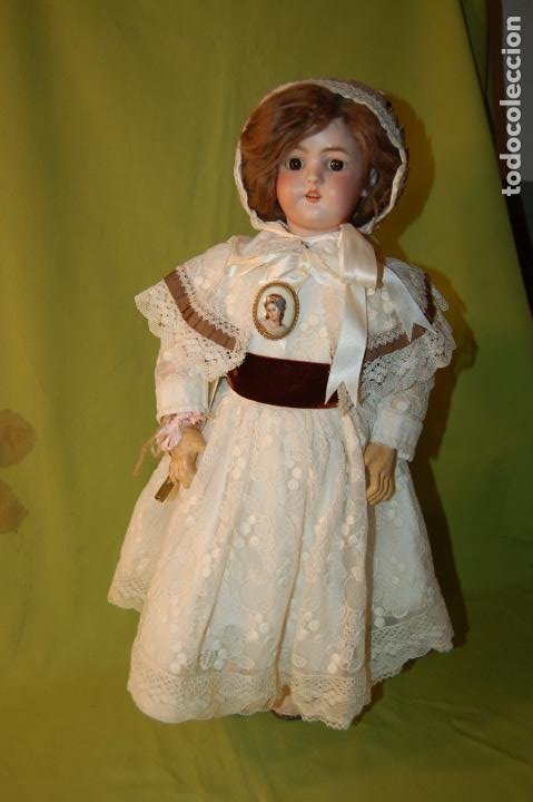 Muñecas Porcelana: automata a cuerda Fleischmann & Bloedel cabeza simon halbig - Foto 22 - 127579715