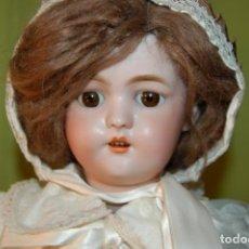 Muñecas Porcelana: AUTOMATA A CUERDA FLEISCHMANN & BLOEDEL CABEZA SIMON HALBIG. Lote 127579715