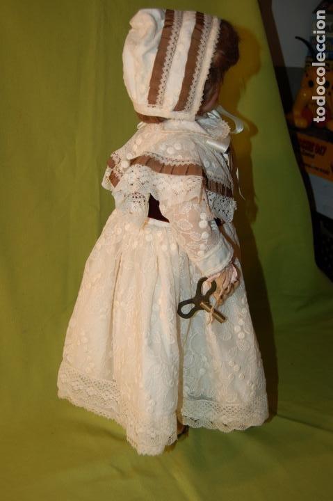 Muñecas Porcelana: automata a cuerda Fleischmann & Bloedel cabeza simon halbig - Foto 26 - 127579715