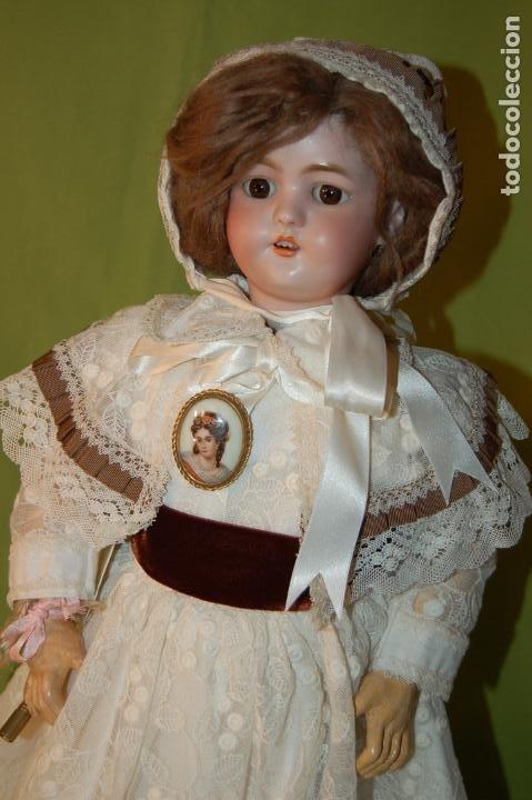 Muñecas Porcelana: automata a cuerda Fleischmann & Bloedel cabeza simon halbig - Foto 28 - 127579715