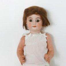 Muñecas Porcelana: MUÑECA DE PORCELANA DE 48CM DE ALTURA, MARCADA EN LA NUCA 8. Lote 191284670