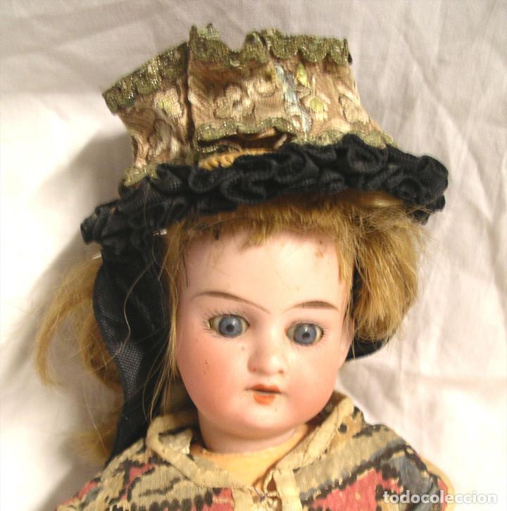 Muñecas Porcelana: Muñeca Armand Marseille Germany 390 ojos durmientes, cabeza porcelana, cuerpo articulado. Med. 30 cm - Foto 2 - 191715436