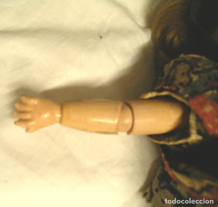 Muñecas Porcelana: Muñeca Armand Marseille Germany 390 ojos durmientes, cabeza porcelana, cuerpo articulado. Med. 30 cm - Foto 4 - 191715436