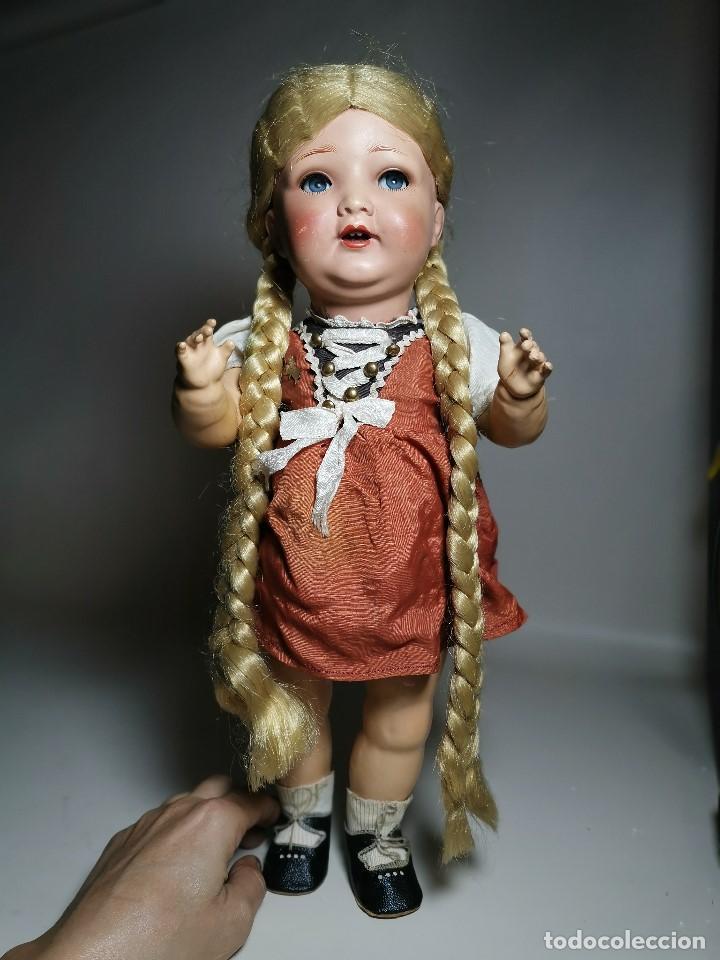 Muñecas Porcelana: ANTIGUA MUÑECA ALEMANA KWG, 133/13 KERAMISCHE WERKE GRAFENHAIN 46CM AÑOS 20 A 30, PRECIOSA - Foto 11 - 193738931
