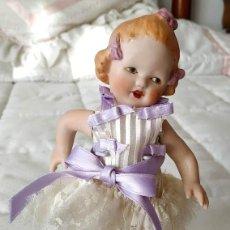Muñecas Porcelana: ELSBETH MUÑECA DE PORCELANA ALEMANA ARTICULADA POR MERCEDES SOS. Lote 194012437