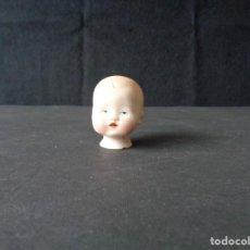 Muñecas Porcelana: CABEZA DE BEBE DE PORCELANA ALEMANA RESTAURADA.. Lote 194108863
