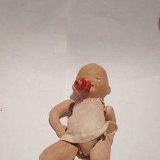 Muñecas Porcelana: BEBE ALEMAN BISCUIT POLICROMADO. Lote 194326481