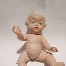 Muñecas Porcelana: ANTIGUO BEBE ARTICULADO ALEMAN EN BISCUIT. Lote 194326956