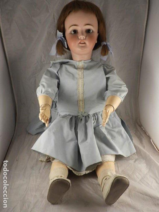 Muñecas Porcelana: MUÑECA SIMON & HALBIG 1078 15 DE 82 CM DE ALTA - Foto 15 - 194349425